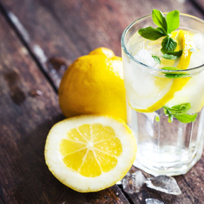 Daily Water with Lemon ~ The Internal Shower