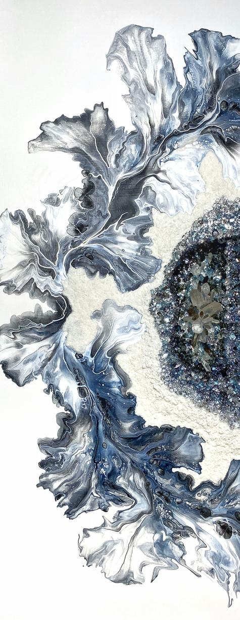 Oeuvre 3 dimensions par l'artiste peintre Mélyna Leclerc
