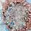 Art abstrait plan rapproché cristaux quartz
