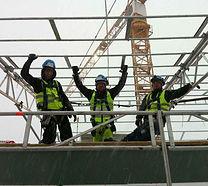 Brenden & Co holder kurs i bruk av stillaser samt bygging og kontrollering av stillaser.