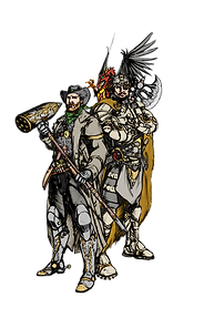 Medieval Cowboy & Steampunk Viking