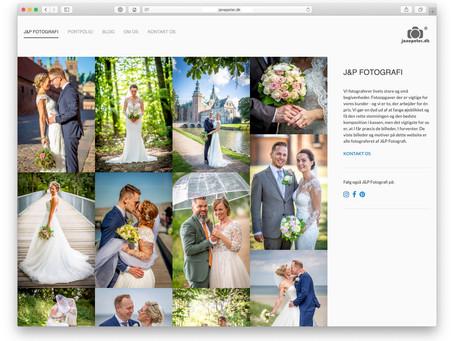 Website til fotograf