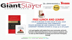 Free lunch and learn ad