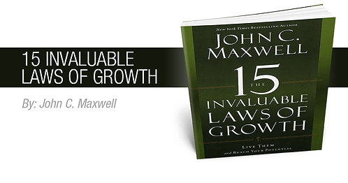 "Master Mind Group Coaching Workshop ""The 15 Invaluable Laws of Growth"""