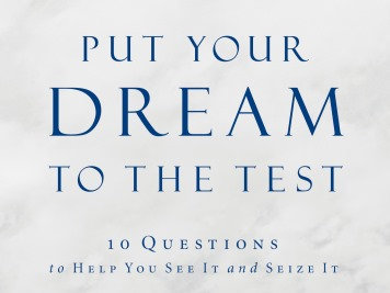 """Personal One-on-One Coaching """"Put Your Dream to the Test"""""""