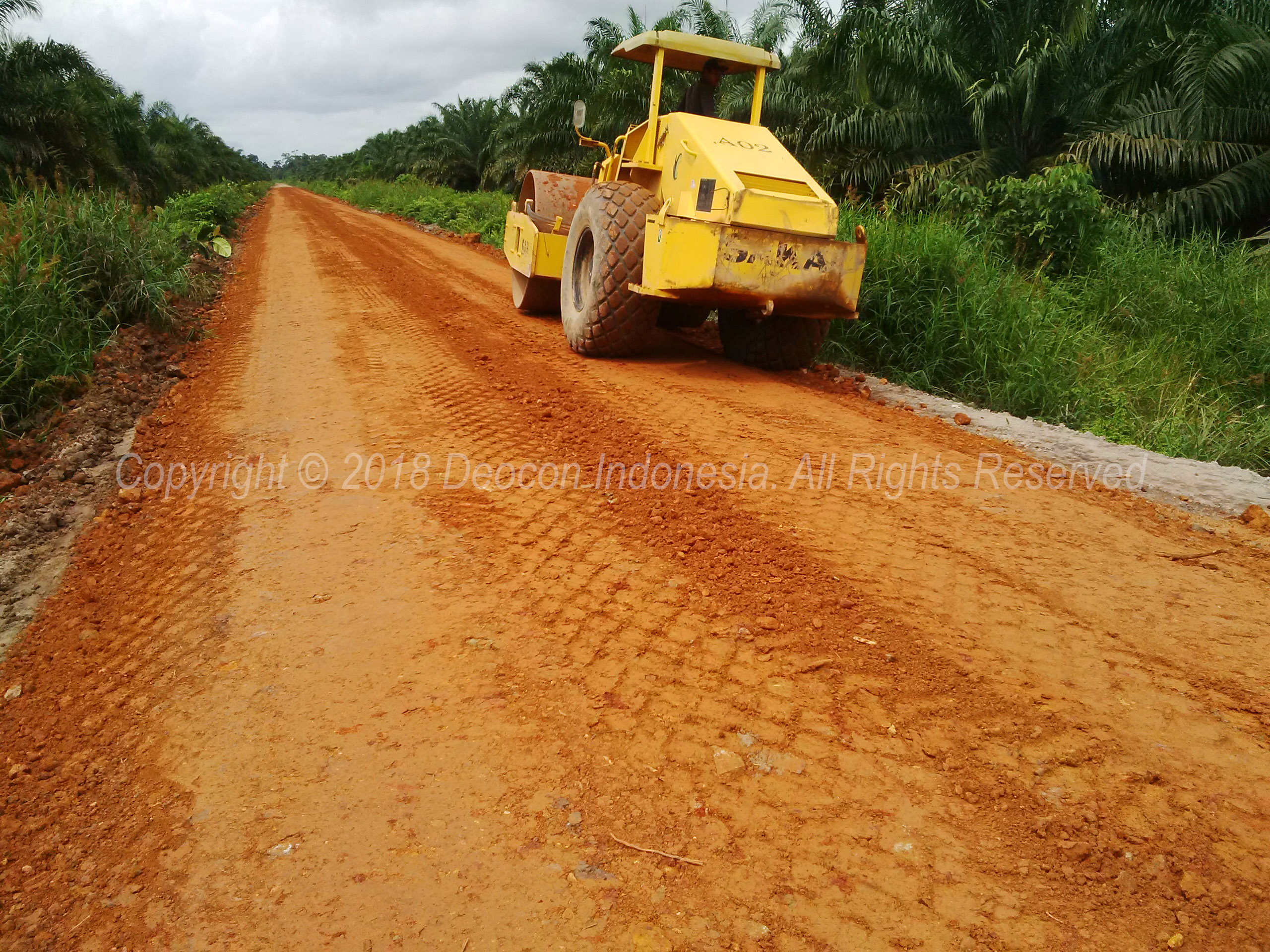 Compact Plantation Road with S-Base 07 Soil Stabilizer
