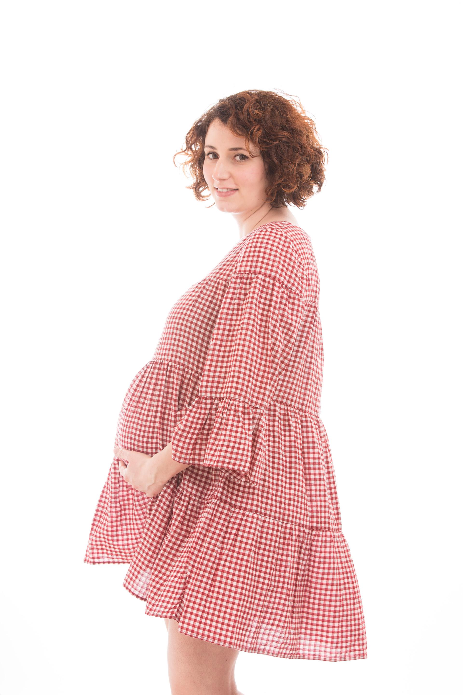 Séance grossesse coloré