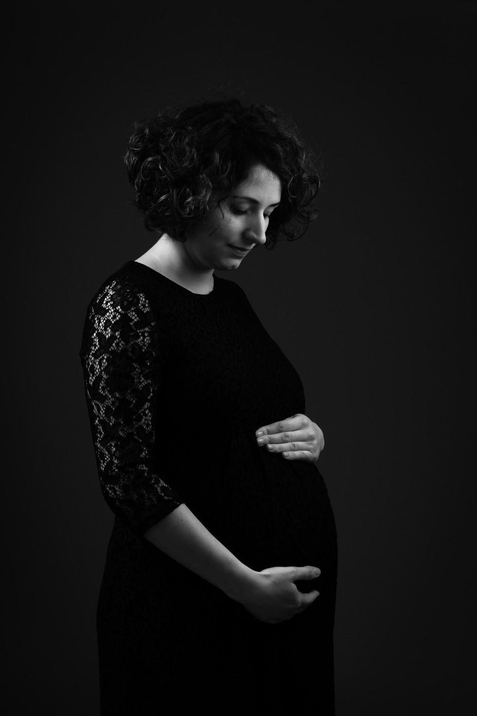Séance grossesse contrastée