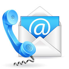 Contact Speedy Clearances - image of a phone and email icon