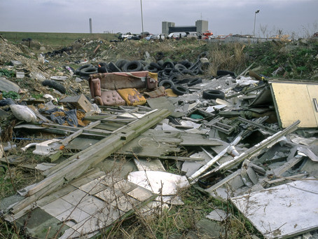 The Government Pledges a Crack-Down on Households who use companies who dump their rubbish illegally