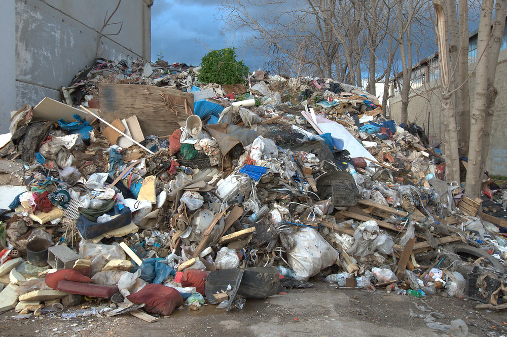 Improper waste disposal