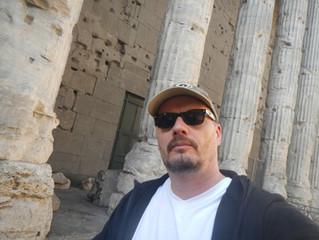 Tony Bulmer In Rome Italy