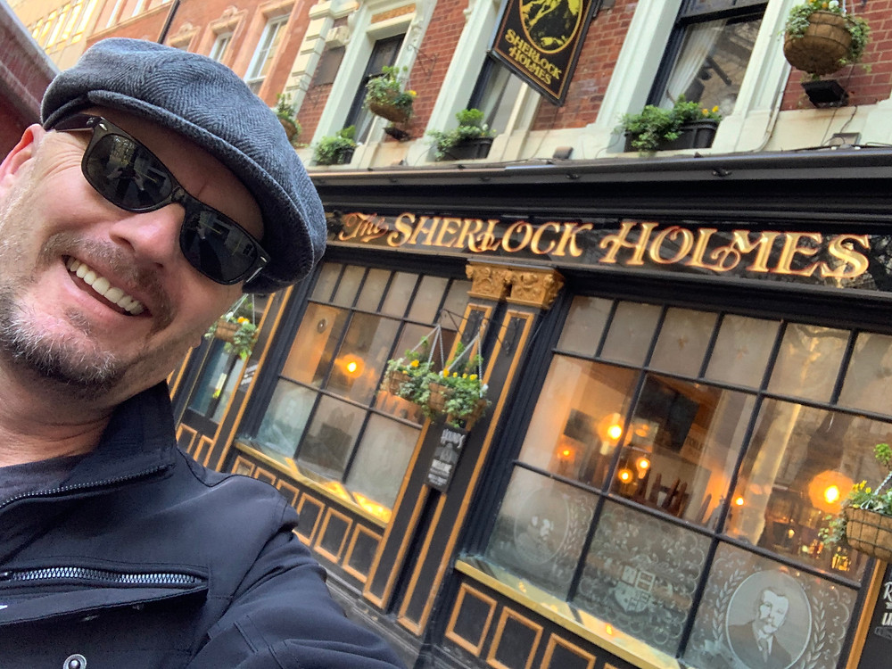 Tony Bulmer, Sherlock Holmes, London