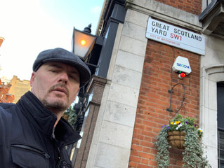 Tony Bulmer visits Scotland Yard