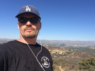 Tony Bulmer on Mulholland Drive