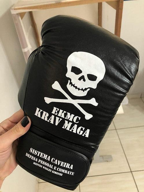 Luva Krav Maga Caveira® modelo fechada (boxe)