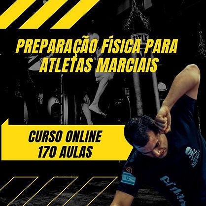 curso preparação fisica para atletas marciais lutadores