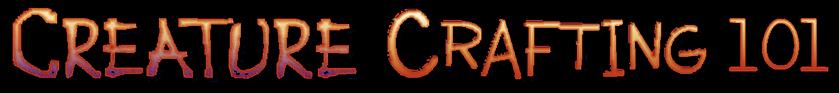 Creature Crafting LOGO 1c FLAT no bkg.pn