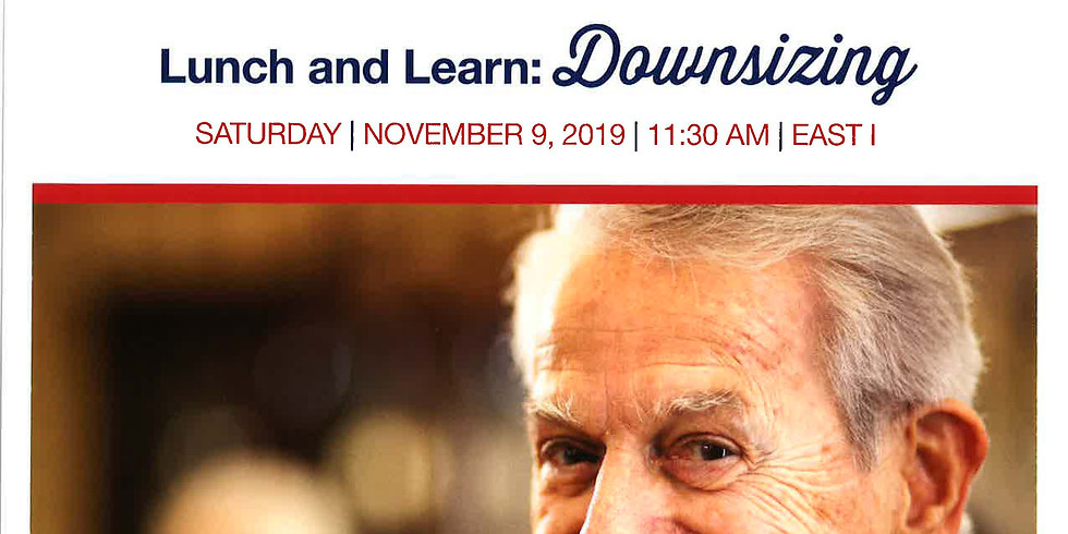 Lunch and Learn on Downsizing
