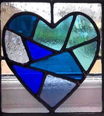 Blue heart for the NHS