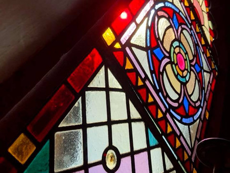 Bespoke Stained Glass Door Commission