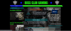 Boss Webpage Home