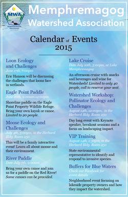 MWA Agenda of Events