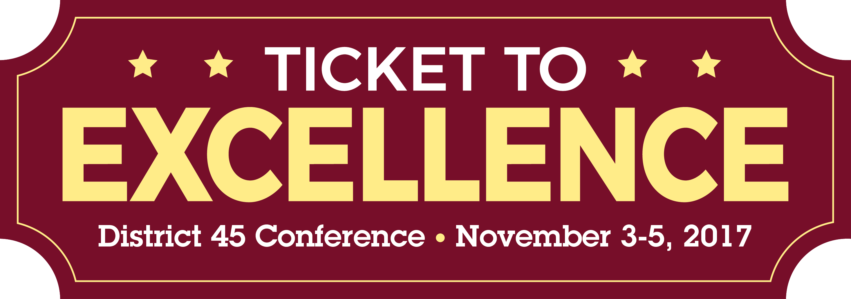 Ticket to Excellence Logo