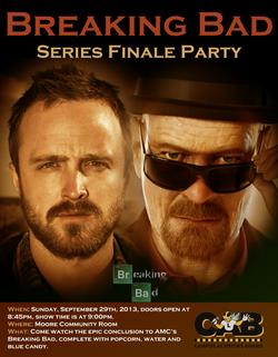 Breaking Bad Series Finale Party
