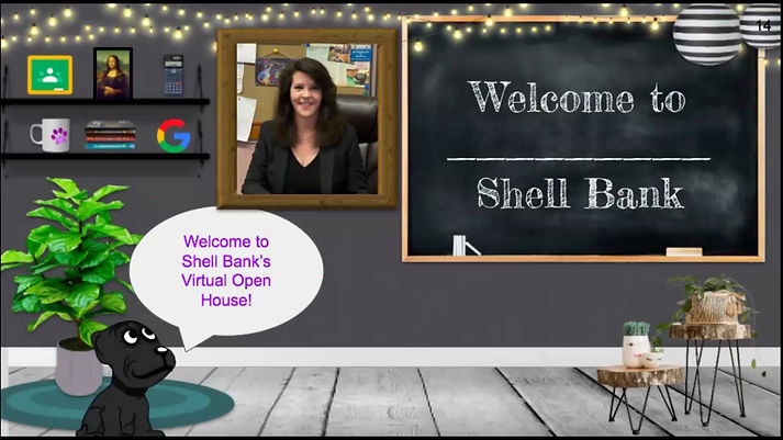 Shell Bank Junior High School virtual open house video