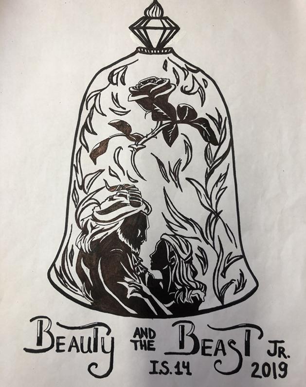 Art Work designed by 8th Grade Student - Anira Kenzeeva
