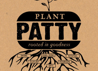 The PLANT PATTY -- the ultimate vegan meal!