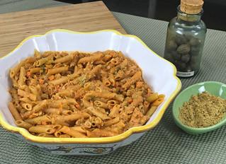 Hearty Vegan Lentil Cauliflower Bolognese