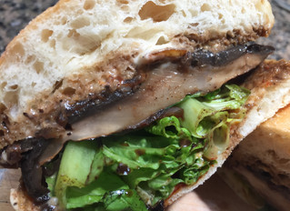 Transitioning to a vegan lifestyle? This portobello sandwich will leave any vegan and non vegan comp