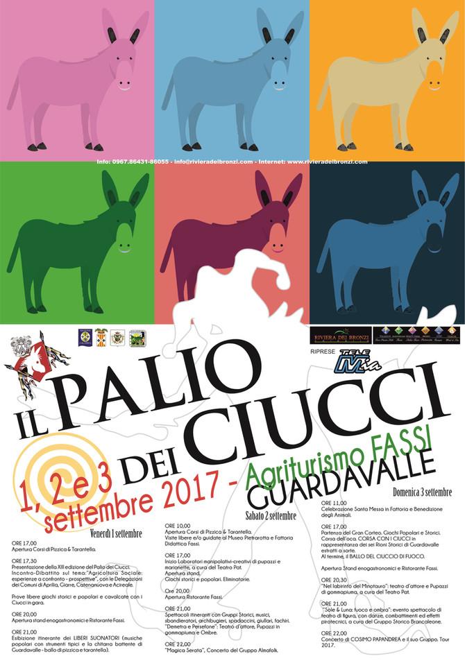 Palio del Ciuccio 01-03 Settembre 2017