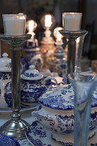 מרקיה כחול קובלט ולבן – DELFT BOCH