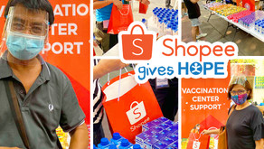 Hope in the time of the pandemic: HOPE supports vaccination centers through Shopee Bayanihan