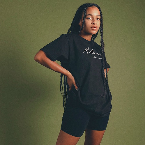 Black Metanoia Tee