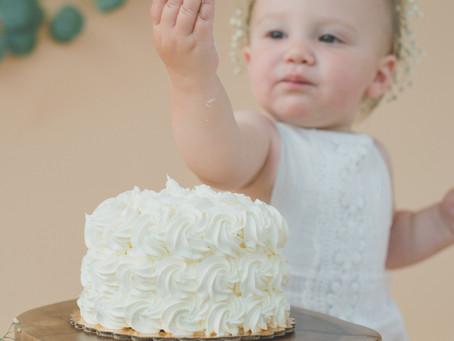 A very boho smash cake