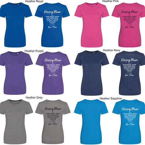Women's Horsey Supporter Tee-shirts