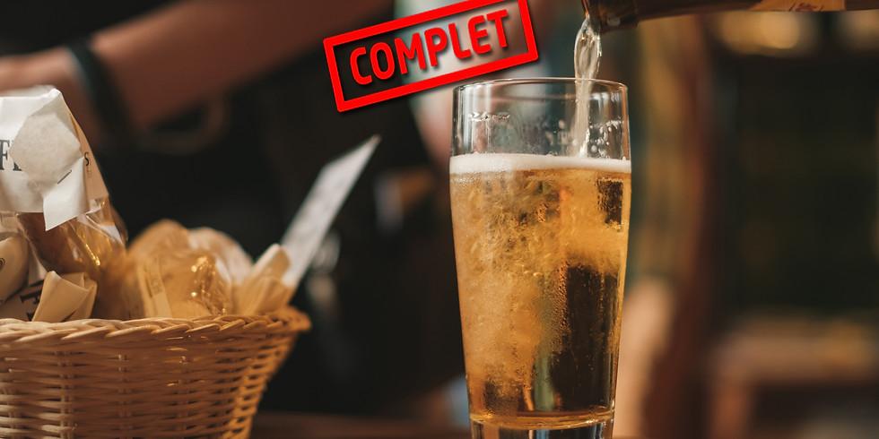 Dégustation de bières cuisinées & accompagnements gourmands