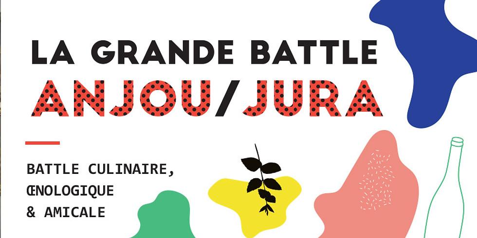 La grande battle culinaire, œnologique & amicale Anjou / Jura
