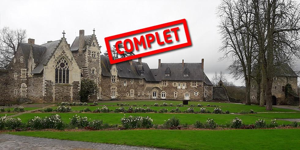 Visite thématique : le château du Plessis-Macé et la cuisine au Moyen-Âge