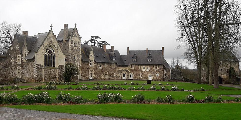 Visite théâtralisée du château du Plessis-Macé autour de la cuisine au moyen-âge