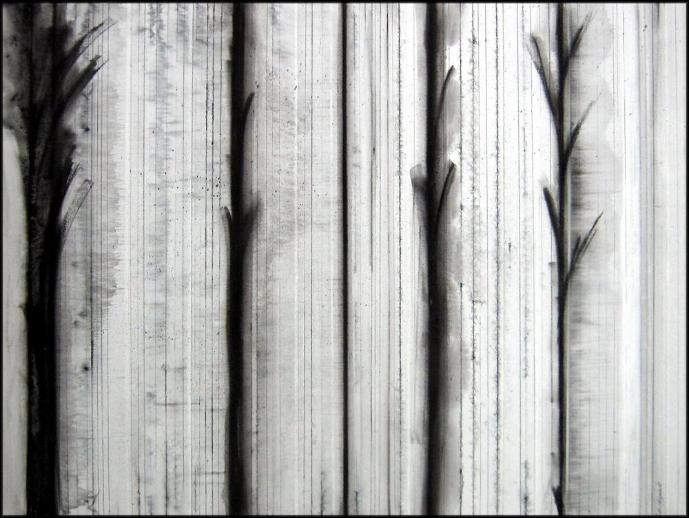 Toccata & Fugue II, mixed media on canvas