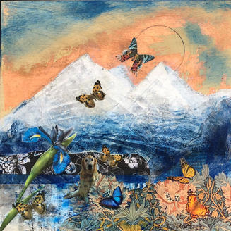 Edy was filled with wonder as the butterflies greeted the sun.  Sold