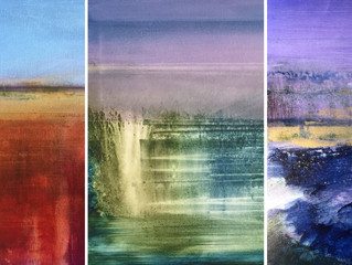 After a long & hot summer...September comes to us with refreshing art news!