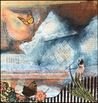 Maddie looked over creation from her mountain home.  SOLD