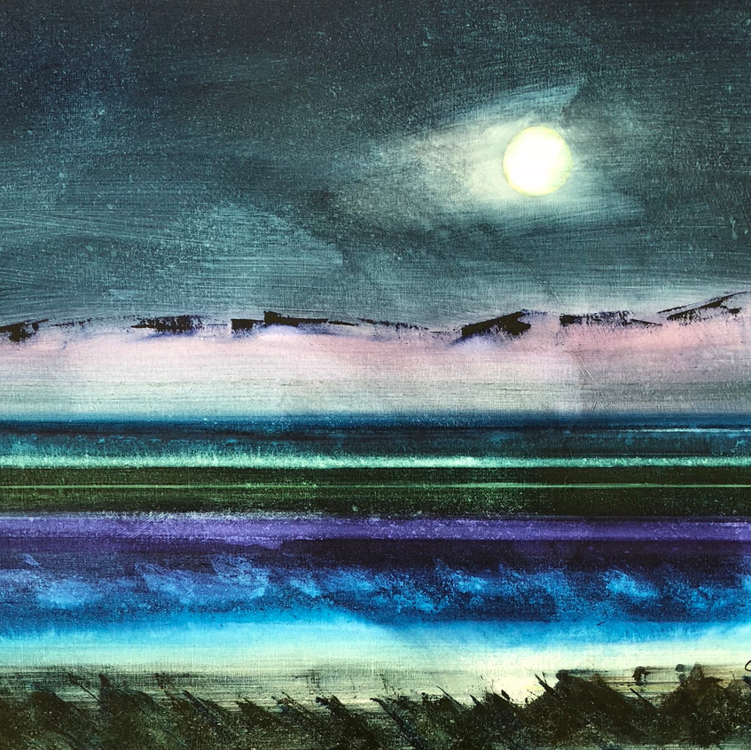 landscape with moon CVA, Brock and Chand