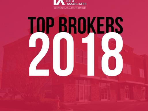 Top Brokers of 2018
